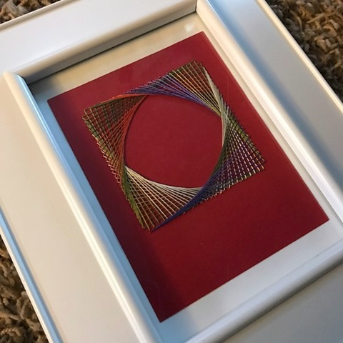 parabolic thread art