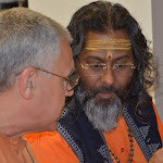 Day 2 Swami Atmajnanananda and Swami from Chinmoy Mission