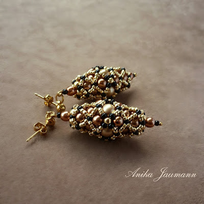 Anika Jaumann Beadwork Earrings