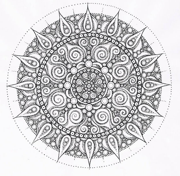 Center Yourself With Mandalas Coloring Pages