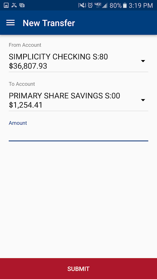 American 1 Mobile Banking- screenshot