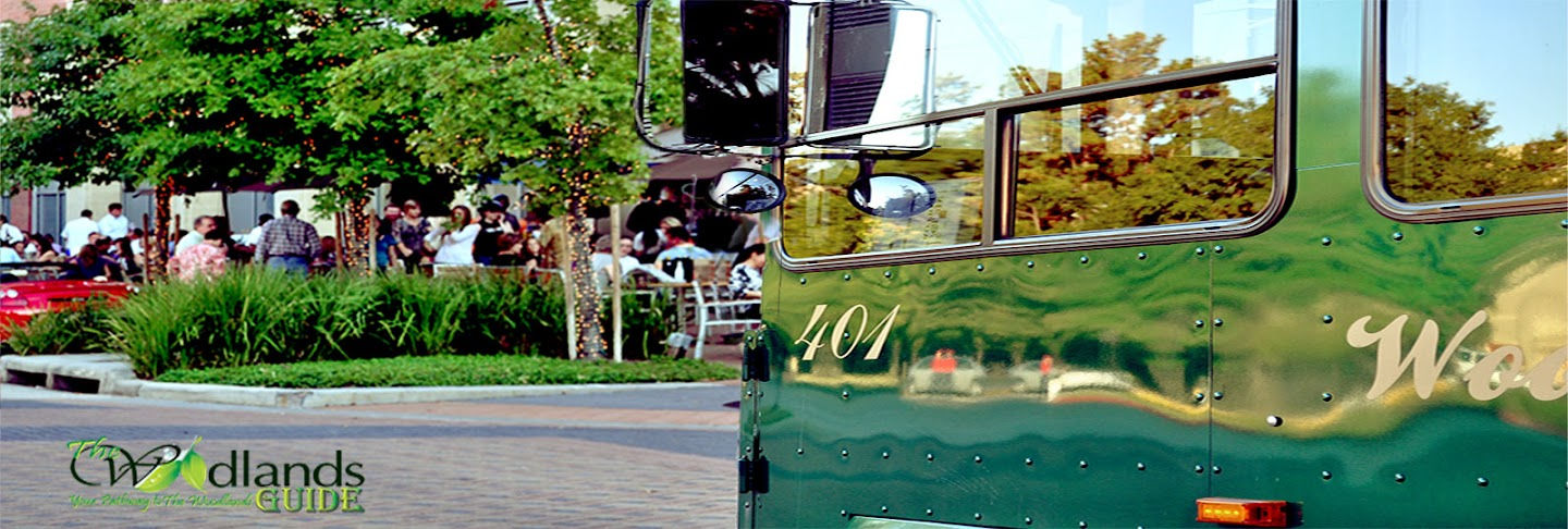 Waterway Trolley The Woodlands Texas Town Center