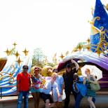 our crew at Tokyo DisneySea in Urayasu, Tiba (Chiba) , Japan