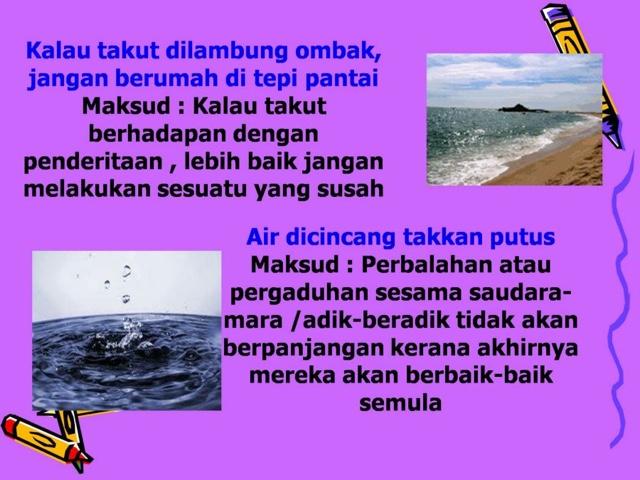 Segalanya Bahasa Melayu Peribahasa