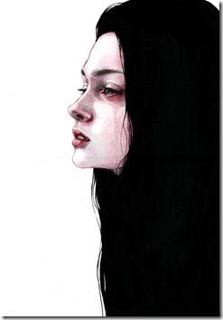 dibujos lapiz llorar y tristeza  (21)