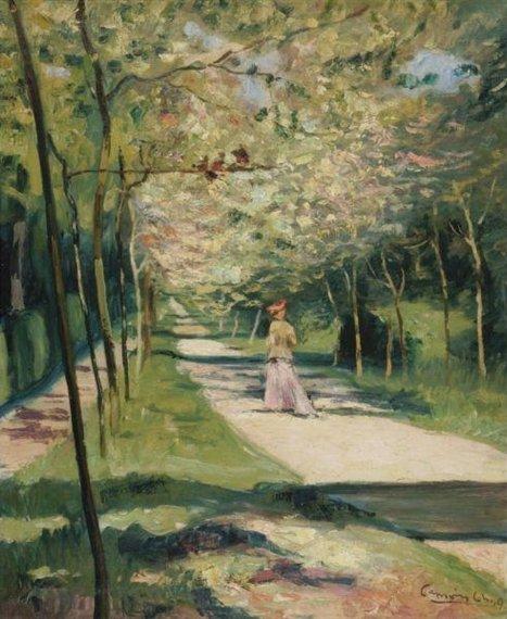 Charles Camoin - Allée du Parc de Saint-Cloud