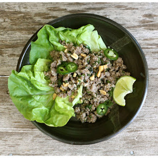 Thai Ground Pork Salad.