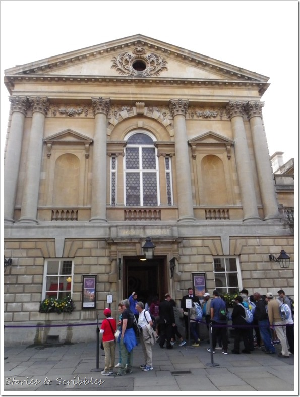 Entrance to the Roman Baths, Bath