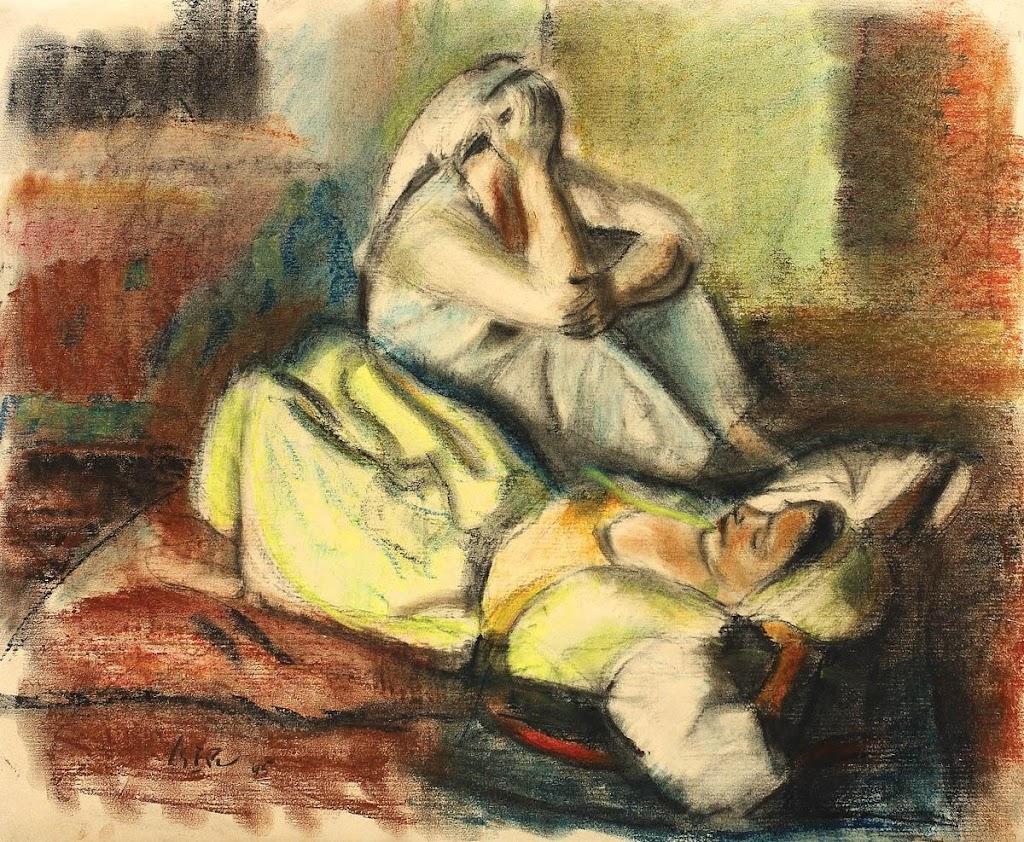 Iosif Iser - Odalisce odihnindu-se