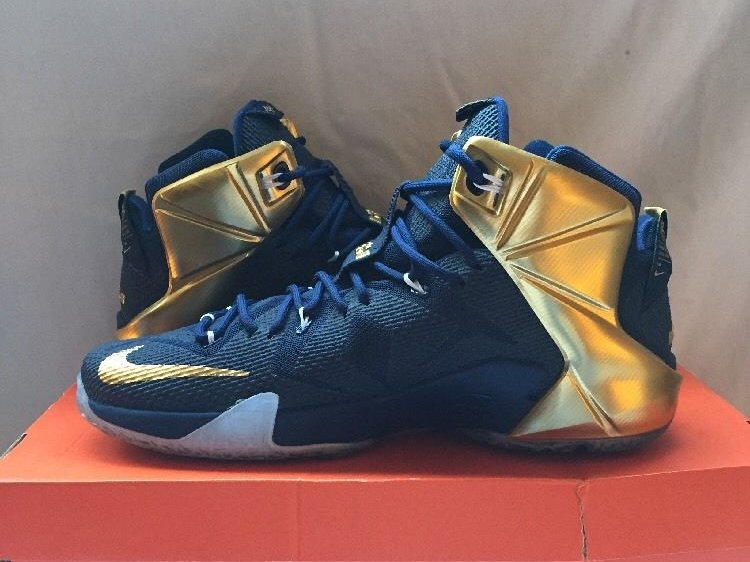 new products 6c511 ee0df ... An Additional Look at University of Akron LeBron 12 PE