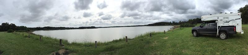 Acampado Lago