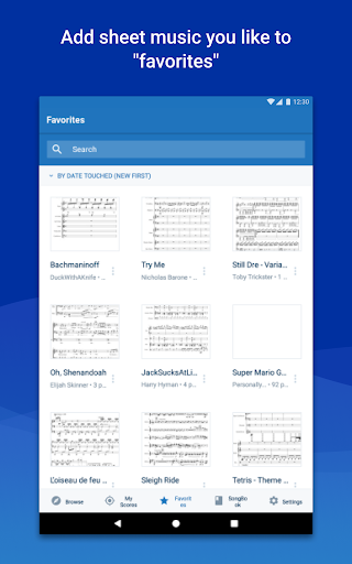 MuseScore: view and play sheet music 2.4.36 14