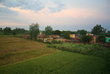 Amarpurkashi village and fields