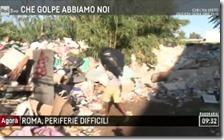 Migrante smaltisce rifiuti illegalmente