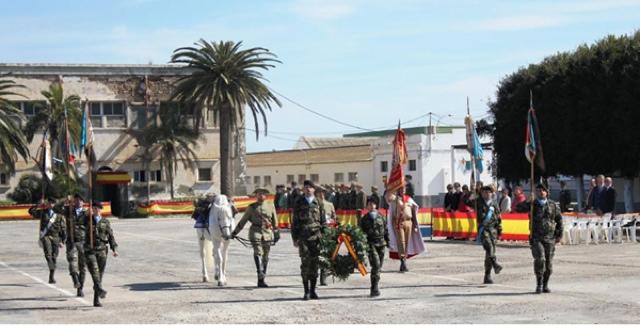 """El Regimiento de Caballería Acorazado """"Alcántara"""" nº 10 cumple 356 años."""