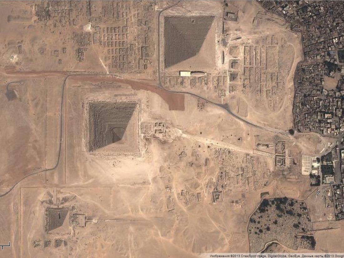 Египетские пирамиды на карте фото