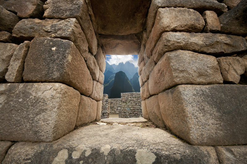 Machu Picchu from the Inca Wall