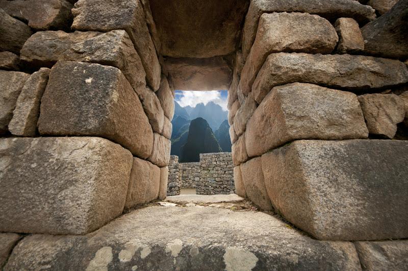 Machu Picchu from the Inca Wall