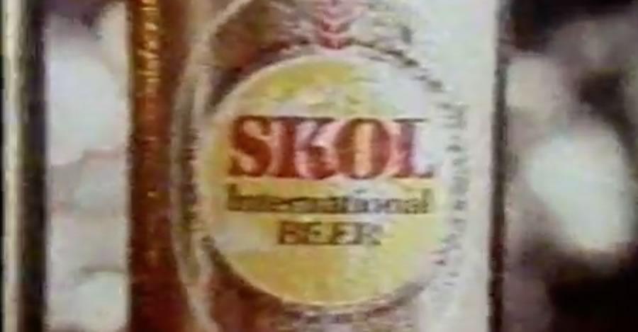 Propaganda antiga da Cerveja Skol na metade dos anos 70