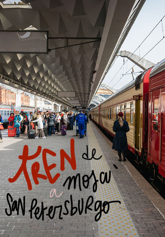 Tren de Moscú a San Petersburgo