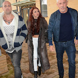 OIC - ENTSIMAGES.COM - Ocean Beach Ibiza owner Wayne Lineker spotted with MTV Artist /Producer Damon Hess and X Factors Lydia Lucy  in Chigwell Essex - Looks like an Ibiza music collaboration is def on the cards   Photo Mobis Photos/OIC 0203 174 1069