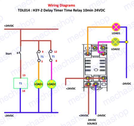 Omron H3y 2 Wiring Diagram - Wiring Diagrams Folder on