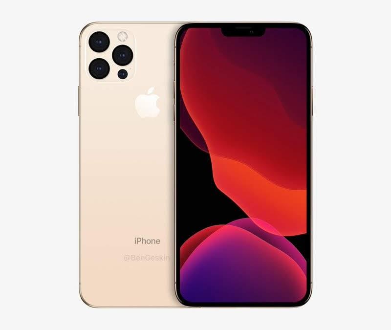 USB-Cや5G、5nm A14、新デザイン筐体など「iPhone XII Max(2020)」のコンセプトの画像