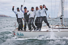 Tim Healy, John Mollicone, and Newport J/24 sailing crew win Worlds!