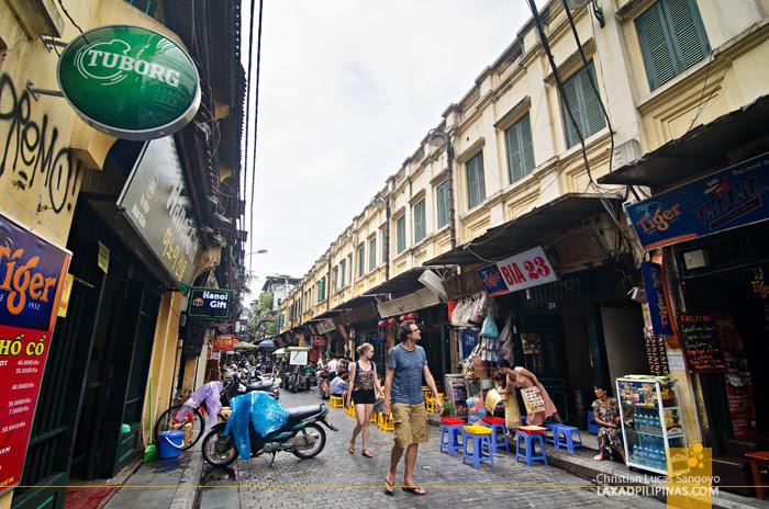 Ta Hien Hanoi Vietnam