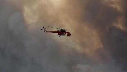 Ανεξέλεγκτη παραμένει η πυρκαγιά στην Κω