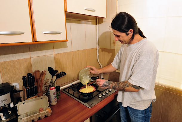 razvan anton omleta oua smantana patrunjel copt