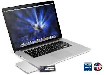 El MacBook Pro Retina ya tiene su primer SSD compatible