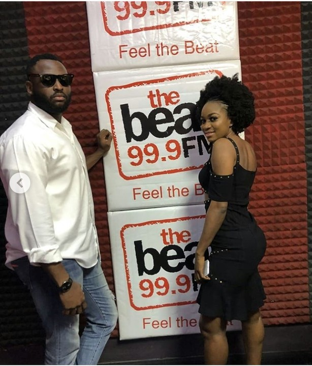 BBNaija: Nelson And Thelma Begin Media Tour After Their Eviction (Photos)