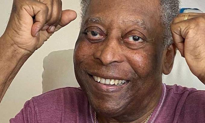 Após retirada de tumor, Pelé recebe alta da UTI e vai para o quarto