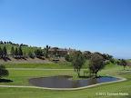 Views of Summit Post Golf Course along Calera Creek Trail