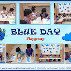 Blue Day Celebration by Play Group Section (2018-19), Witty World, Goregaon East