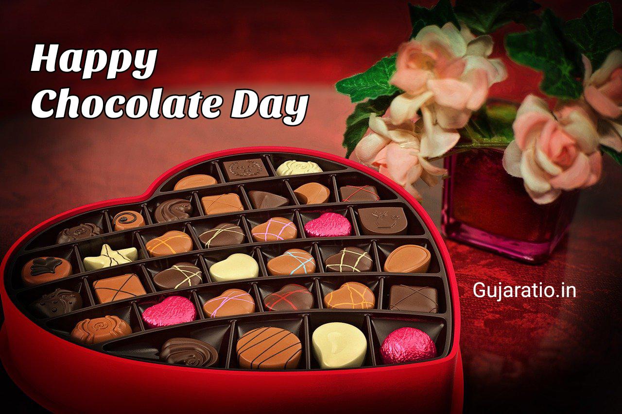 Gujarati-Chocolate-Day-status-image