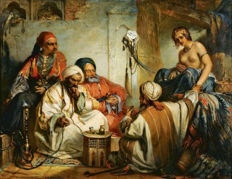 Jean-François Portaels - The Slave Market