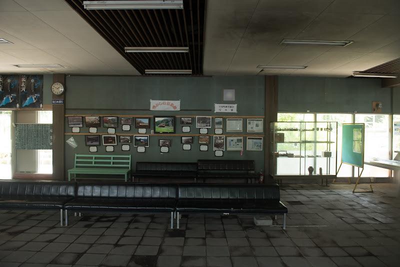 170805 旧岩泉駅舎内
