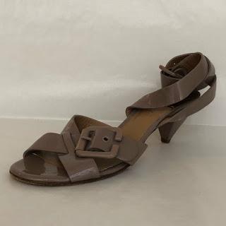 Chloé Patent Leather Sandals