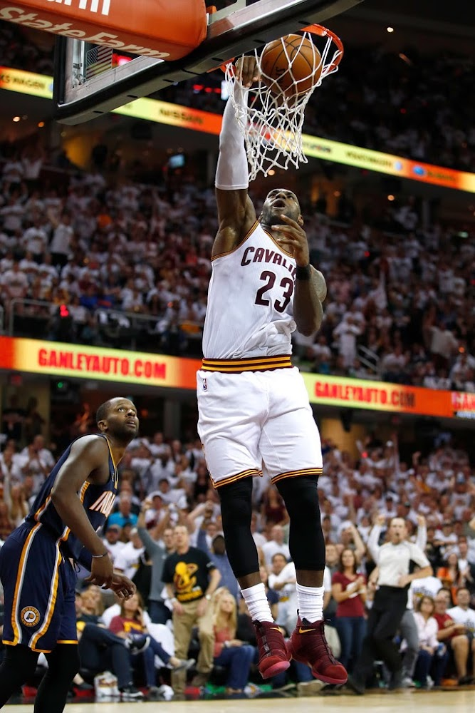 a4541f5d3fbfa ... LBJ Debuts Nike LeBron Soldier 11 in Game 1 Win Over Pacers ...