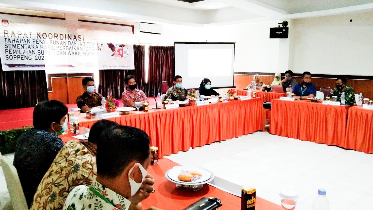 KPU Gelar Rakor Tahapan Penyusunan DPSHP