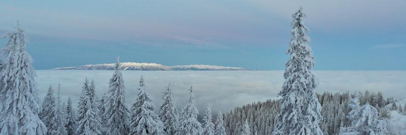 Inca o dimineata, inca o mare de nori.