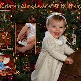 081225KA Kristen Almodovar's 1st Birthday