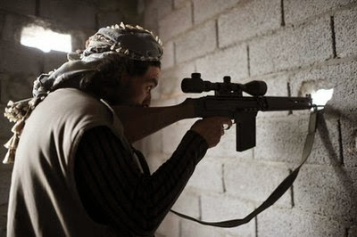 OPERACION GRANJA. PARTIDA ABIERTA.LA GRANJA.25-08-13. Tripoli-francotirador