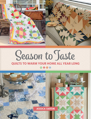 Season to Taste quilt book by Jessica Dayon found on A Bright Corner blog