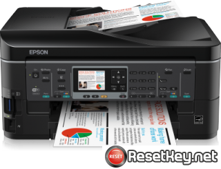 Reset Epson BX630FW printer Waste Ink Pads Counter