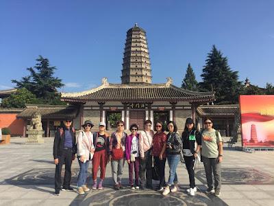 9月 20 - 29 日,四位女同學與家人及朋友參加「絲路起點﹒隴西十日行」