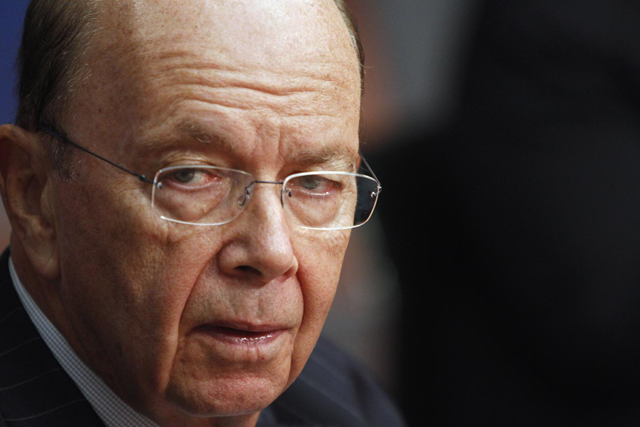 Wilbur Ross, chairman and CEO of WL Ross & Co., in New York on 7 October 2010. Photo: Keith Bedford / Reuters