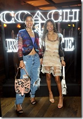 HOLLYWOOD, CA - MARCH 30:  Actors/singers  Chloe Bailey and Halle Bailey attend the Coach & Rodarte celebration for their Spring 2017 Collaboration at Musso & Frank on March 30, 2017 in Hollywood, California  (Photo by Donato Sardella/Getty Images for Coach)